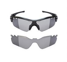 NEW TRANSITION PHOTOCHROMIC VENTED CUSTOM LENS FOR OAKLEY RADAR PATH SUNGLASSES